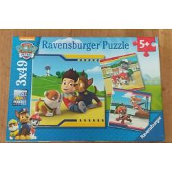 Puzzle Paw Patrol 3X49 pièces