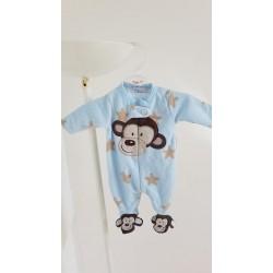 Pyjama naissance en polaire