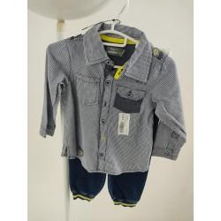 Ensemble jean + chemise 24...